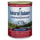 Natural Balance L.I.D. Limited Ingredient Diets Buffalo and Sweet Potato Formula 13oz
