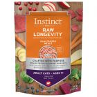 Instinct Raw Longevity Frozen Bites Grass-Fed Beef for Adults Ages 7+ Cat Food 2.5lb