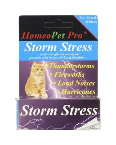 HomeoPet Storm Stress for Cats and Kittens