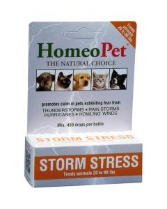 HomeoPet Storm Stress for Pets 20-80 lbs
