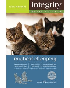 Integrity Multicat Clumping Cat Litter 40lb