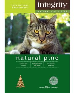 Integrity Natural Pine Cat Litter 25lb
