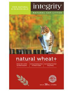 Integrity Natural Wheat+ Cat Litter 38lb