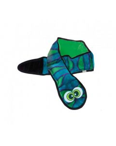 Outward Hound Snake Blue and Green with 6 Squeakers