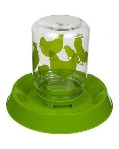 LIXIT Chicken Feeder and Waterer 128oz