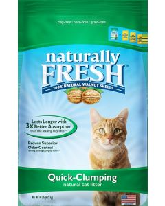 Naturally Fresh Litter Quick Clumping Cat Litter 6lb