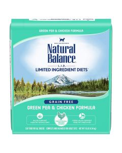 Natural Balance Green Pea & Chicken Dry Cat Food 10lb