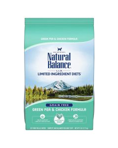 Natural Balance Green Pea & Chicken Dry Cat Food 5lb