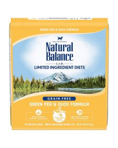 Natural Balance Green Pea & Duck Dry Cat Food 10lb