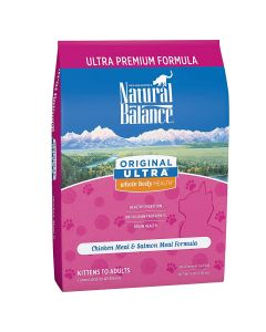 Natural Balance Chicken & Salmon Dry Cat Food 15lb