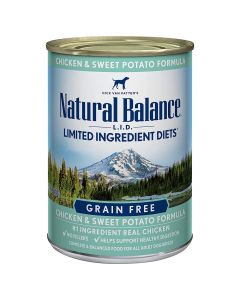 Natural Balance L.I.D. Limited Ingredient Diets Chicken and Sweet Potato Formula 13oz