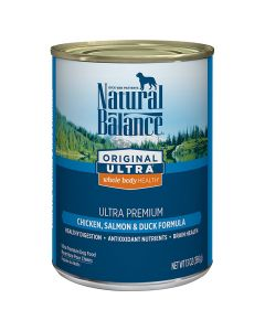 Natural Balance Original Ultra Whole Body Health Chicken, Salmon and Duck Formula 13oz