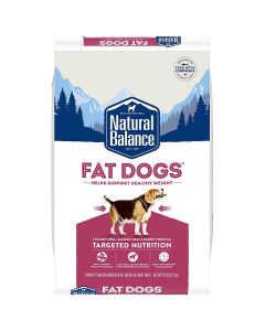 Natural Balance Chicken & Salmon Low Calorie Dry Dog Food 28lb