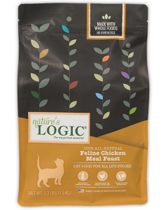 Nature's Logic Chicken Dry Cat Food 3.3lb