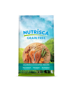 Nutrisca Salmon & Chickpea Dry Dog Food 28lb