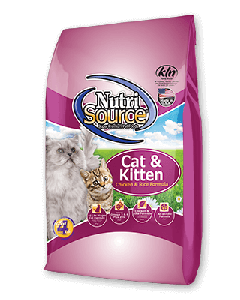 Nutrisource Chicken & Rice Dry Cat Food 6.6lb