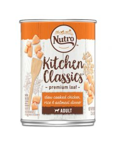 Nutro Kitchen Classics Slow Cooked Chicken, Rice and Oatmeal Dinner 12.5oz