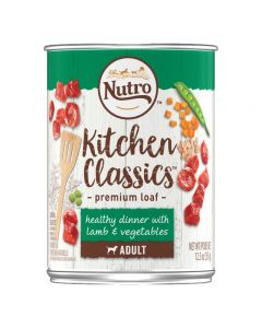 Nutro Kitchen Classics Healthy Dinner with Lamb and Vegetables Premium Loaf 12.5oz