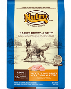 Nutro Chicken Rice & Oatmeal Large Breed Dry Dog Food 30lb