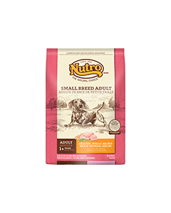 Nutro Chicken Rice & Oatmeal Small Breed Dry Dog Food 5lb