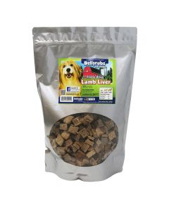 Bellyrubs Freeze-Dried Lamb Liver 14oz bag