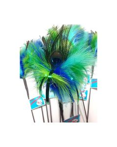 GO CAT FEATHER TOYS Peacock Feather
