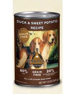 Pinnacle Grain Free Duck and Sweet Potato Recipe Dog Food 13oz