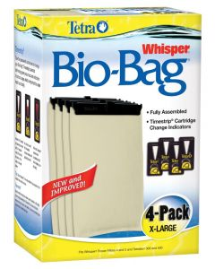 Tetra Bio-Bag Cartridge Unassembled Extra Large 4 Count