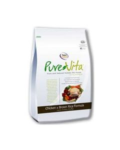 PureVita Chicken & Brown Rice Formula Dry Dog Food 5lb