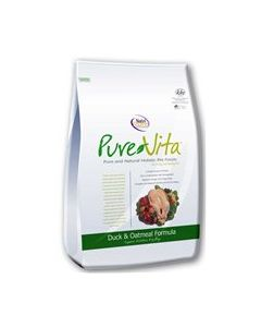PureVita Duck & Oatmeal Dry Dog Food 25lb
