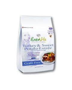 PureVita Turkey & Sweet Potato Dry Dog Food 15lb
