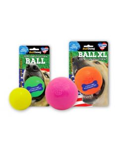 "RuffDawg Rubber Ball 2.5"" For Small To Medium Dogs"