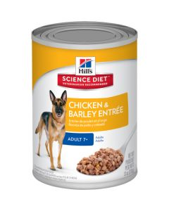 Science Diet Adult 7+ Chicken and Barley Entr 13oz