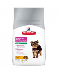 Science Diet Small & Toy Breed Puppy Dry Dog Food 15.5lb