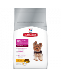 Science Diet Small & Toy Breed Adult Dry Dog Food 15.5lb