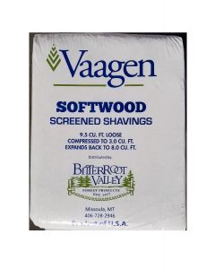 Bitterroot Valley Forest Product Bitterroot Softwood Shavings 8 Cubic Feet
