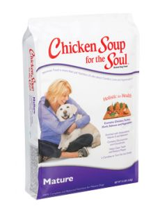 Chicken Soup Mature Dry Dog Food 5lb