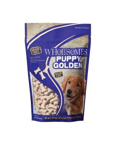 Sportmix Wholesomes Puppy Golden Biscuit Treats 20lb