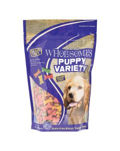 Sportmix Wholesomes Puppy Variety Biscuit Treats 20lb