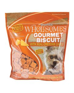 Sportmix Wholesomes Gourmet Biscuit Treats with Real Cheddar Cheese