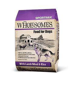 Wholesomes Lamb Meal & Rice Dry Dog Food 40lb