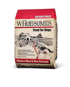 Wholesomes Chicken Meal & Rice Dry Dog Food 40lb