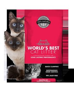 World's Best Multiple Cat Clumping 7lb