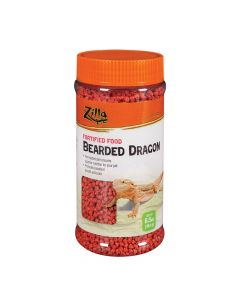 ZILLA Bearded Dragon Extruded Food Pellets 6.5oz