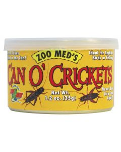 ZOO MED Can O' Crickets 1.2oz