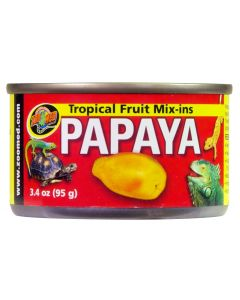 ZOO MED Tropical Fruit Mix-ins Papaya 3.4oz