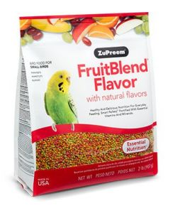 Zupreem FruitBlend Flavor with Natural Flavors Small 2lb