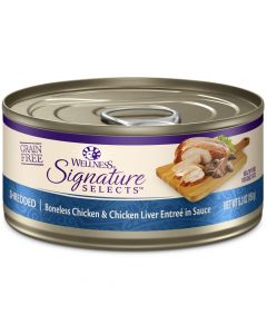 Wellness Signature Selects Shredded Chicken & Chicken Liver 5.3oz