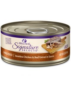 Wellness Signature Selects Shredded Chicken & Beef 5.3oz