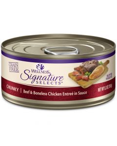 Wellness Signature Selects Chunky Beef & Chicken 2.8oz